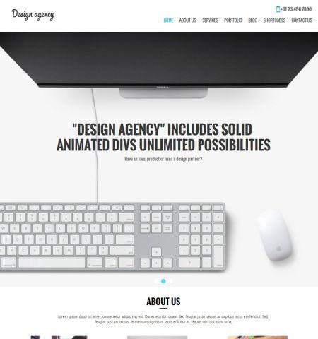 theme miễn phí design-agency